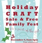 Holiday Craft Sale & Free Family Fest